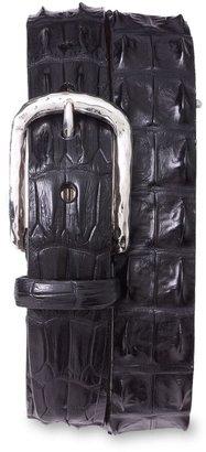 Torino Hornback Crocodile Leather Belt