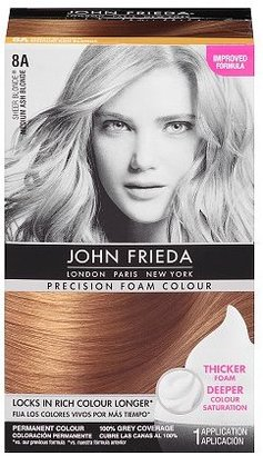John Frieda Precision Foam Colour 8A Sheer Blonde Medium Ash Blonde