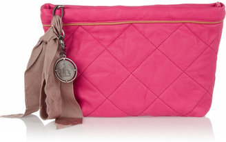 Lanvin Quilted leather cosmetics case