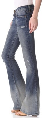 Current/Elliott The Low Bell Flare Jeans