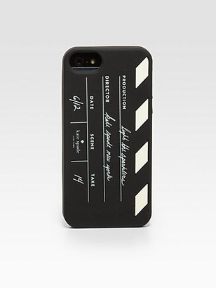 Kate Spade Director's Clapboard Softcase for iPhone 5