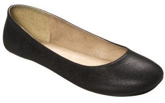 Mossimo Womens Odell Ballet Flats - Black