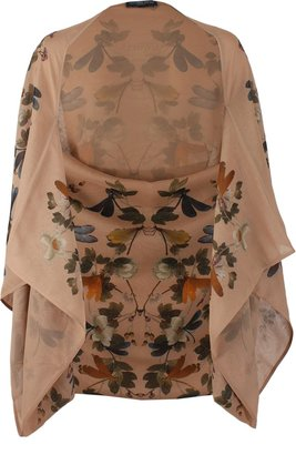 Alexander McQueen Dragonfly and Plant Cape