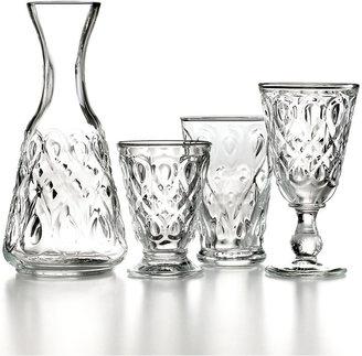 French Home La Rochère Glassware, Lyonnais Clear Carafe