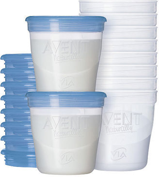 Avent Naturally Philips BPA Free Breast Milk Storage Starter Kit