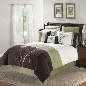 Bamboosa 8-pc. leaf comforter set