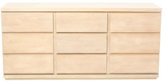 Vue Latina Buffet in Lime Washed Timber Veneer Finish