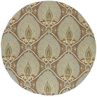 Glenn Home & porch mercers floral rug - 5'9'' round