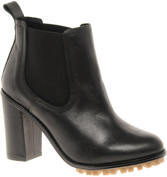 Asos AEROPLANE Chelsea Leather Ankle Boots
