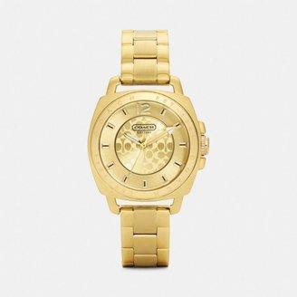 Coach Mini Boyfriend Bracelet Watch