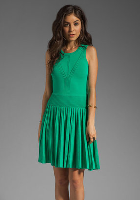 Milly February Knits Josephine Pleated Dress