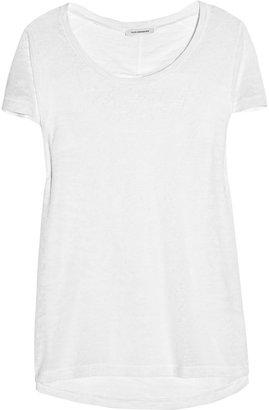 Faith Connexion Burnout-jersey T-shirt