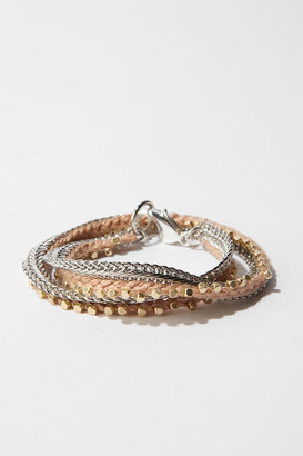 Urban Outfitters Double Wrap Braid Bracelet