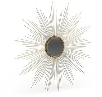 "Safavieh Marinda Braided Gold Sunburst 41-inch Decorative Mirror - 41"" x 41"" x 0.8"""