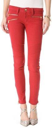 DL1961 Hazel Wax Coated Skinny Jeans