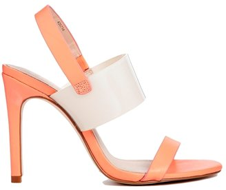 Asos HOLD OUT Leather Heeled Sandals