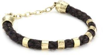 Citrine by the Stones Small Hemp Brown Bracelet