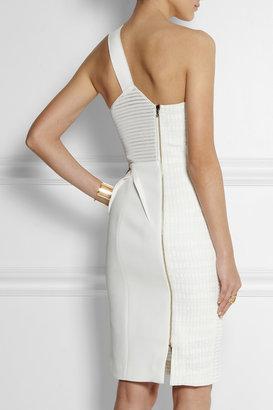 Roland Mouret Aralia stretch-jacquard dress