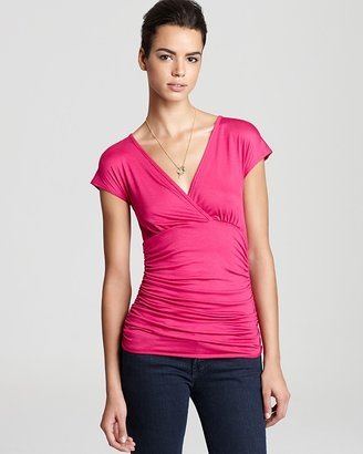 Sweet Pea Top - Ruched Waist Solid
