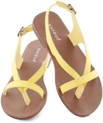 I Really Mustard Go Sandal