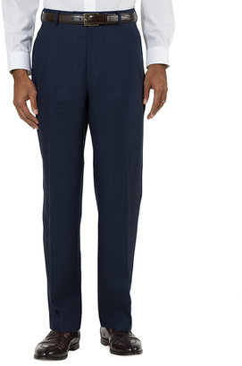 Brooks Brothers Irish Linen Plain-Front Trousers