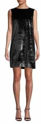 HUGO Metallic Shift Dress