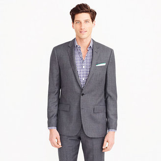 Ludlow suit jacket with double vent in Italian worsted wool $425 thestylecure.com