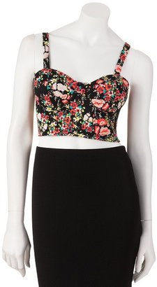 Candies Candie's® floral bralet top - juniors