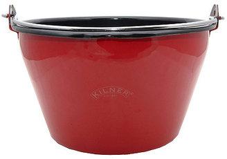 Enamel Jam Pan, Red