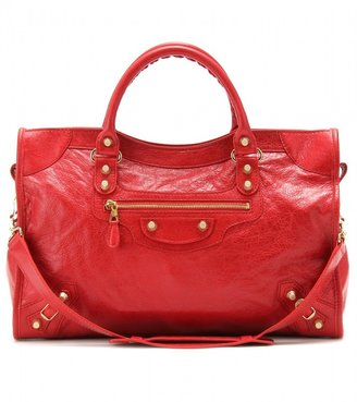 Balenciaga GIANT 12 CITY LEATHER TOTE