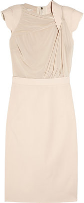 Antonio Berardi Wool and stretch-jersey dress