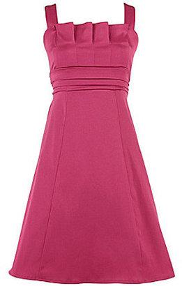 Ruby Rox 7-16 Pleated Satin Dress