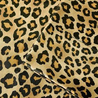 Victoria Classics Premier comfort cheetah satin sheet set