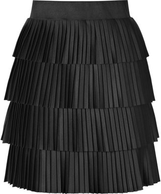 Reiss Loma PLEATED TIERED SKIRT