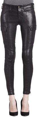 J Brand Jeans Houlihan Leather Skinny Pants