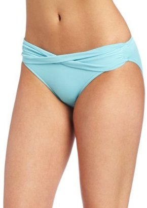 Seafolly Women's Goddess Twist Band Hipster Bottom