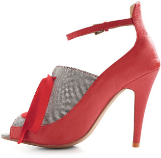 Fashion Forward Thinking Heel in Red