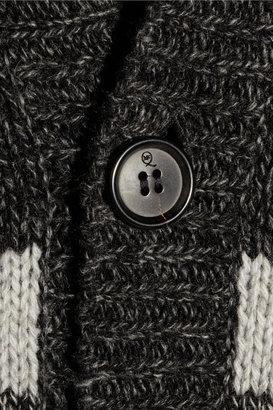 McQ Striped wool cardigan