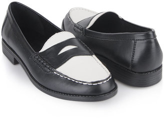 Forever 21 Two Toned Leatherette Loafers