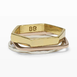Club Monaco Bing Bang Geometric Ring Set