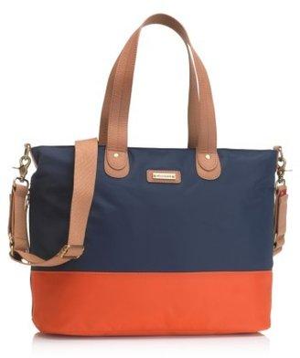 Infant Storksak Colorblock Diaper Bag - Blue $115 thestylecure.com