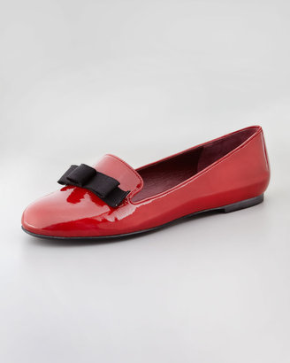 Marc by Marc Jacobs Tailored Patent Leather Bow Loafer