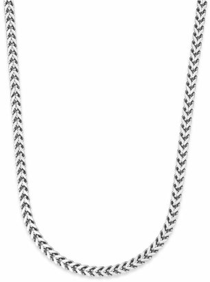 Sutton by Rhona Sutton Men Stainless Steel Curb-Link Chain Necklace
