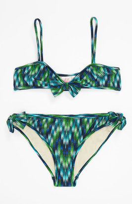 Milly Minis 'Sagaponack' Two Piece Bikini Swimsuit (Big Girls)