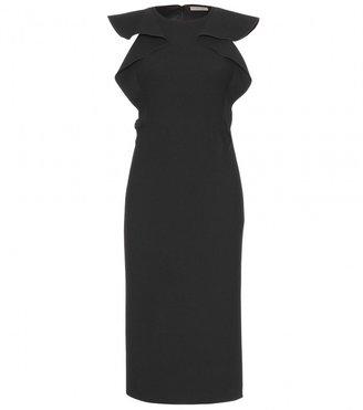 Bottega Veneta WOOL DRESS WITH RUFFLES
