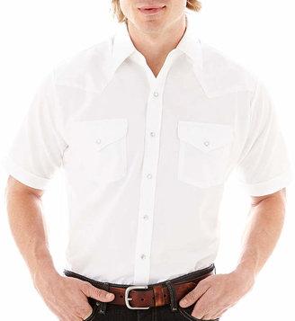 JCPenney Ely Cattleman Short-Sleeve Western Shirt