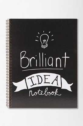 Urban Outfitters Brilliant Idea Spiral Notebook