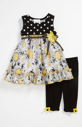 Iris & Ivy 'Daisy' Dress & Leggings (Baby)