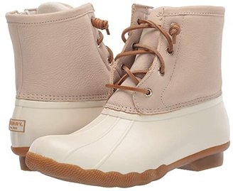 Sperry Saltwater (Ivory) Women's Lace-up Boots