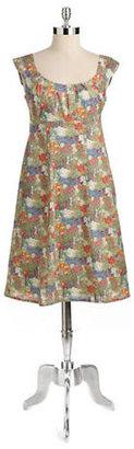 LIBERTY Floral Print Cotton Dress